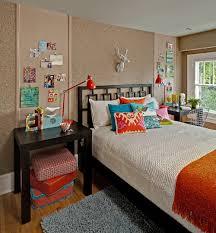 happy bedroom the girl in 25b happy bedroom in orange and tan
