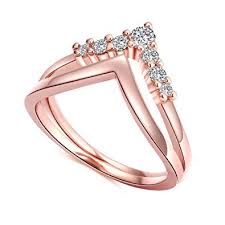 promise engagement rings images Crarine women stackable promise engagement ring set jpg