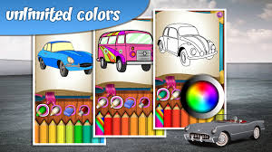 my car coloring book android apps on google play