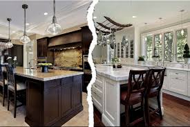 white versus wood kitchen cabinets capid within white kitchen vs