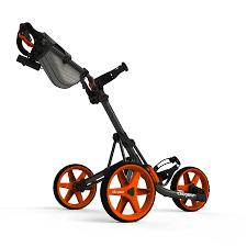 clicgear model 3 5 orange golf push cart