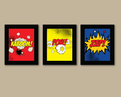 superhero home decor superhero wall art cool comic book wall art home decor ideas