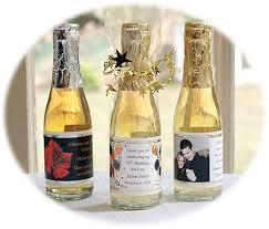 wine bottle favors personalized mini wine bottle favors