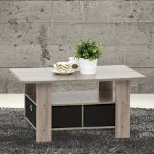 Coffee Tables With Storage by Furinno Home Living Dark Brown And Black Built In Storage Coffee