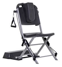 Gym Chair As Seen On Tv Amazon Com The Resistance Chair Resistance Band Seated Exercise