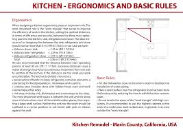 house design rules of thumb kitchen work triangle 101 rules of thumb for low energy
