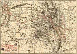 Denver Maps Drgw Rr System Maps