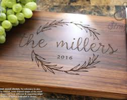 wedding cutting board cutting board etsy