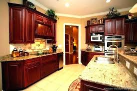 best wall color for kitchen with cherry cabinets kitchen colors with cherry cabinets homifind