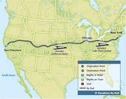 map of usa states san francisco amtrak map usa to coast san francisco to new york with 509 x 402