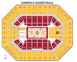 Iowa State Map Iowa State Athletics