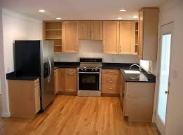 cheap kitchen furniture kitchen u shaped kitchen cabinet design with black countertop