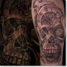 tattoo meaning skull 75 brilliant pocket watch tattoo designs ever made