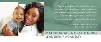 maternal child health nurse leadership academy application