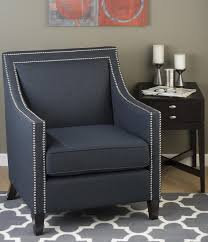 Nailhead Accent Chair Luca Club Chair With Nail Head Trim By Jofran Wolf And Gardiner