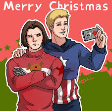 merry captain america winter soldier by pastellzhq on