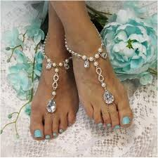 barefoot sandals eternal barefoot sandals foot jewelry wedding catherine cole