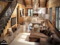 maison interieur bois zone sismique design industriel 3d graphique carl plante