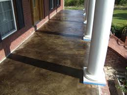Stain Existing Concrete Patio by Southern Concrete Designs Llc Photo Gallery 2
