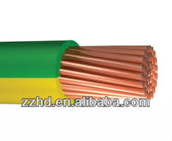 yellow green striped electrical wire 1 5 2 5 4 6 10 12 14 1 6 mm2