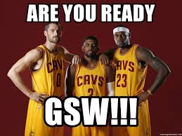 Kevin Love Meme - are you ready gsw kyrie irving kevin love lebron james