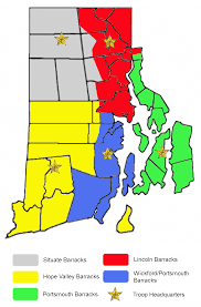 Rhode Island On Map File Ri State Police Troop Map Png Wikimedia Commons