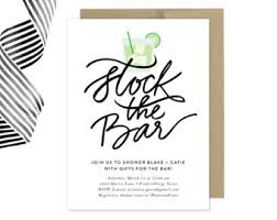 stock the bar invitations mad men invitation etsy