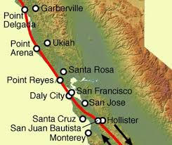 san francisco fault map san andreas fault bay area retrofit