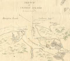 Map Of Williamsburg Virginia by War Of 1812 Battle Of Craney Island Map Daily Press