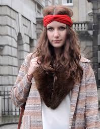style boheme chic le foulard version bohème chic street style coiffure comment