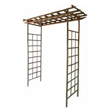 bosmere english garden 66 in x 91 in wood arbor with seat a008