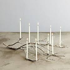 tree branch candle holder tree branch candelabra