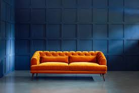 Modern Chesterfield Sofa Earl Grey Love Your Home - Chesterfield sofa uk