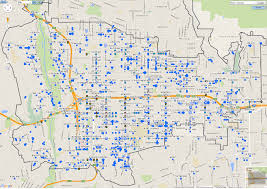 Los Angeles Street Cleaning Map by Traffic Engineering U2013 Department Of Transportation