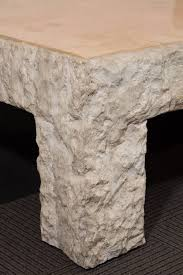 travertine dining table and chairs rough honed travertine coffee table by maitland smith nyshowplace
