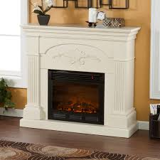 real flame fresno 71 inch electric fireplace media console white