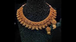 antique necklace images Temple jewellery antique necklace jpg