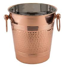 How To Decorate Stainless Steel Old Dutch Fez Decor Copper Hammered Wine Cooler 1104 The Home Depot