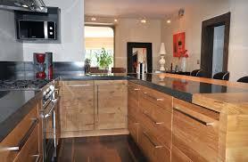 cuisine en bois moderne meuble cuisine bois moderne urbantrott com