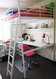 Astonishing Ikea Loft Bed Desk Image Ideas Loft Beds - Ikea bunk bed room ideas