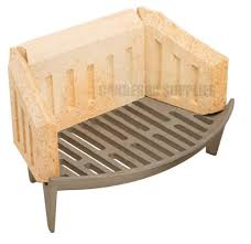 manor coal saver fire bricks fireplace sides u0026 9 wide back 0063 0064
