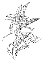 yu gi oh coloring pages for kids printable free coloring pages