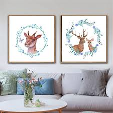 Branch Decorations For Home by Online Shop Haochu Nordic Decoration For Home Family Deers Cartoon