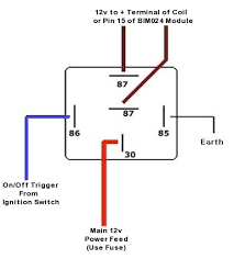 relay wiring diagram 5 pole relay wiring diagrams instruction