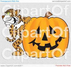 royalty free rf clipart illustration of a cheetah jaguar or