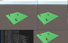 unity3d node js chat sample unity list