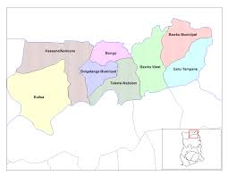 Map Of Ghana Ghana Topographic Map U2022 Mapsof Net