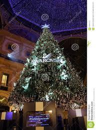 swarovski tree editorial photography image 64562172