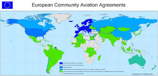 European Country Map by External Aviation Policy Horizontal Agreements European Commission