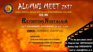 Invitation Cards For Alumni Meet Registrations For Alumni Meet 2017 Bbsb Engineering College